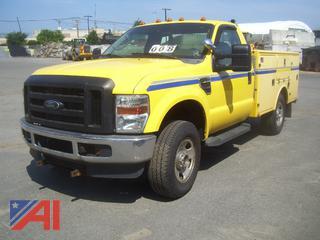 2008 Ford F350 XL Super Duty Utility Truck