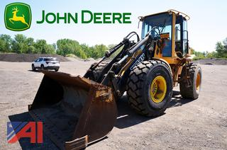 1999 John Deere TC54H Wheel Loader/141