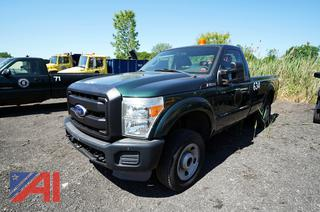 2011 Ford F250 XL Super Duty Pickup Truck/634