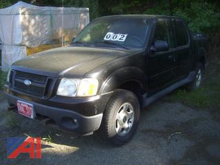 2005 Ford Explorer Sport Trac Pickup Truck