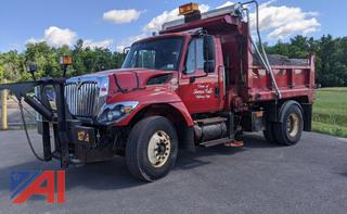 2008 International Work Star 7400 Dump Truck with Plow and Sander