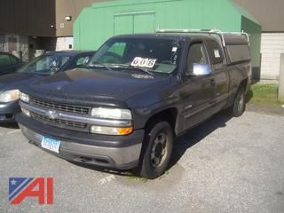 2000 Chevy Silverado 1500 Pickup Truck