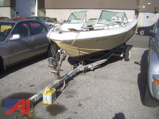 1977 Cobia Dual Console Boat with Trailer