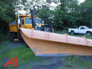 1995 International 2574 Dump Truck with Plow