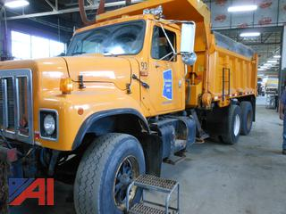 2001 International 2574 Dump Truck with Plow & Wing