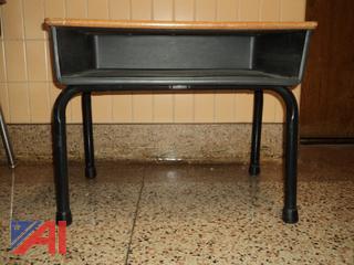 Various School Desks & Chairs