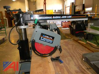 "10"" Delta Radial Arm Saw, #424-02"