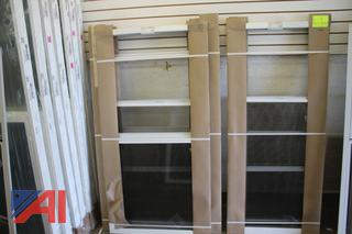 Double Hung 3-Track Storm Windows