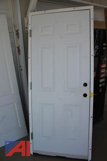 Exterior Fire Door with Frame