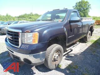 **Lot Updated** 2008 GMC Sierra 2500HD Pickup Truck