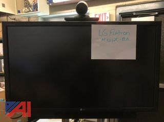"""LG M4212C-BA 42"""" High Definition Widescreen LCD Monitor with Tandberg Video Conferencing"""