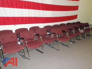 Metal Frame Padded Chairs