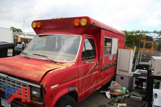 1985 Ford Econoline E350 Bus