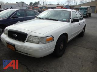 (1617) 2008 Ford Crown Victoria 4 Door/Police Interceptor