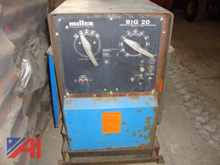 (1618) 1986 Miller Big 20 Arc Welder