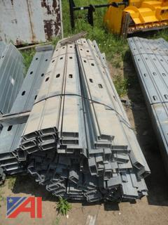 Commercial or High Rise Steel Studdng