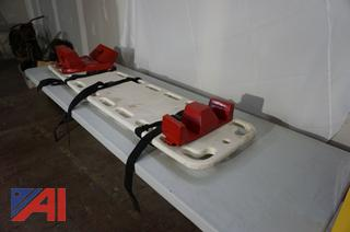 LifeGuard Back Board with Head and Feet Supports