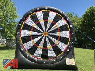 Large Inflatable Dart/Soccer/Arrow Board