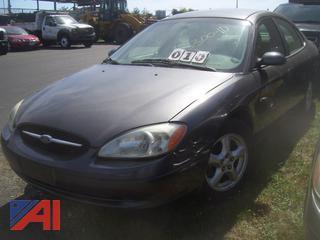 2003 Ford Taurus Sedan/Police Vehicle