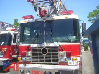2008 HME 1871 Spector Quint 75' Ladder Truck