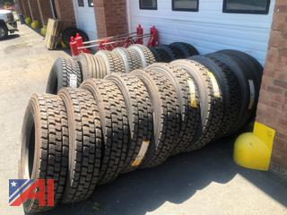 Various New & Recapped Tires, New/Old Stock