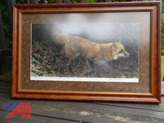 """Limited Edition """"On the Move"""" Red Fox Print"""