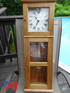 Isaac Youngs 1840 Shaker Wall Clock