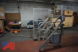 Stainless Steel 3' Power Barrel Lift