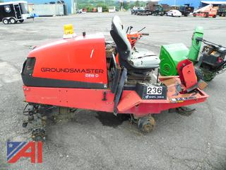 (18) 2003 Toro Groundmaster 228D Tractor (Parts Only)