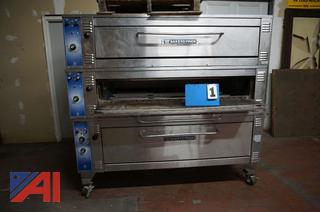 Bakers Pride Triple Stack Pizza Oven