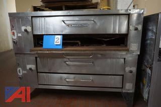 Bakers Pride Y800 Gas Pizza Ovens