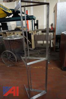 Stainless Steel 5' Pot Rack