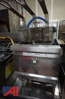 Keating Table Top Gas Fryer