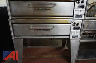 Bakers Pride Double Stack Ovens