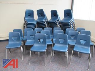 Stacking Chairs by VIRCO
