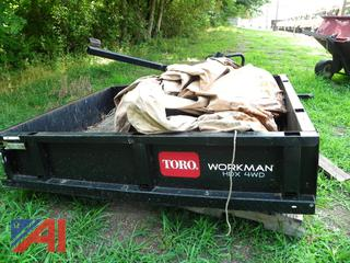 (#4) Toro Workman HDX 4WD Dump Box