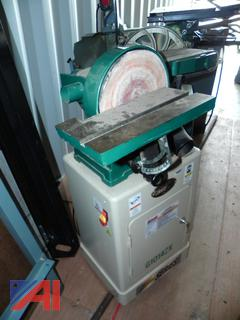 "(#16) Grizzly G1014ZX, 6"" x 48"" Belt/9"" Disc Combo Sander with Cabinet Stand"