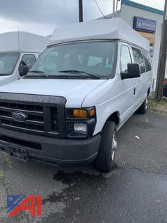 2009 Ford E150 Extended Van with Wheelchair Lift