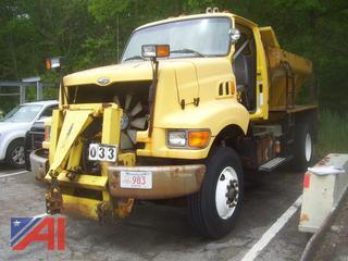1999 Sterling L8000 Sander Truck