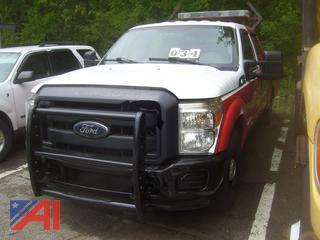 2014 Ford F250 Super Duty Utility Truck