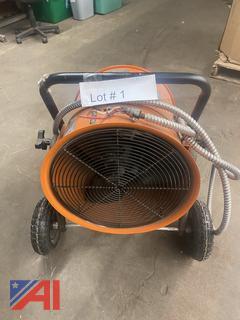 Salamander Heater with Cart