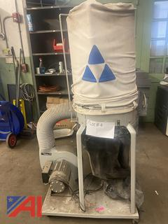 Delta Single Bag Vertical Dust Collector System