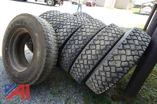 Bridgestone & Firestone 11R24.5 Snow Tires