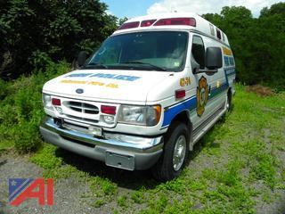 2001 Ford E350 Super Duty Ambulance
