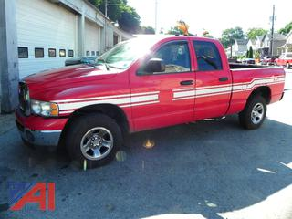 (#1) 2004 Dodge Ram 1500 Cab & Crew Pickup Truck