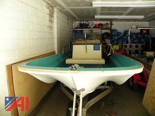 Whaler 16' Boat and Trailer