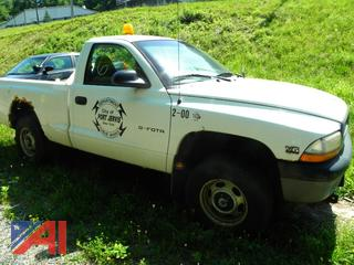 (#6) 2000 Dodge Dakota Pickup Truck