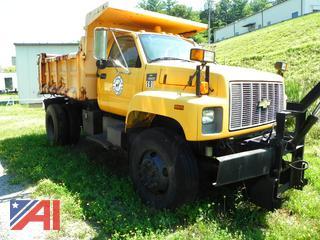 (#7) 1998 Chevy C8500 Dump Truck