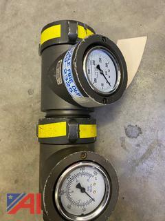 "2.5"" Flow Pressure Gauges"