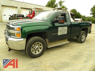 2016 Chevy Silverado 3500HD Pickup Truck with Plow